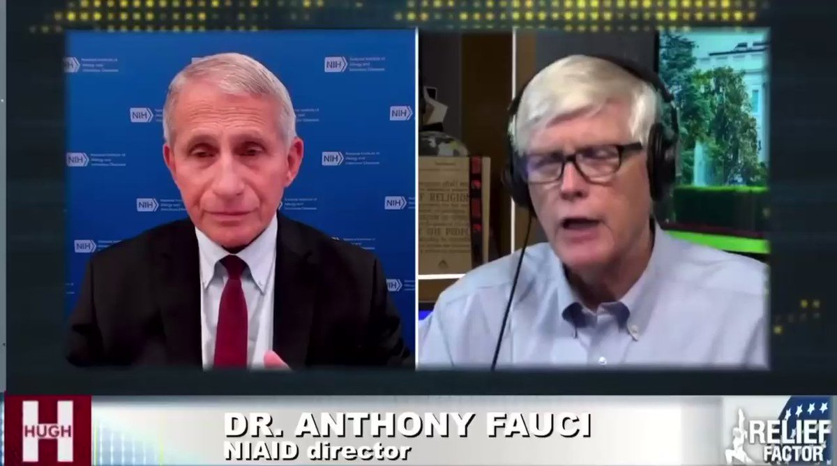 Fauci is an angry little goblin who seeks to rule us as dictator