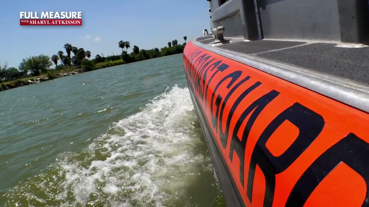 Image for the Tweet beginning: Patrolling the Rio Grande on