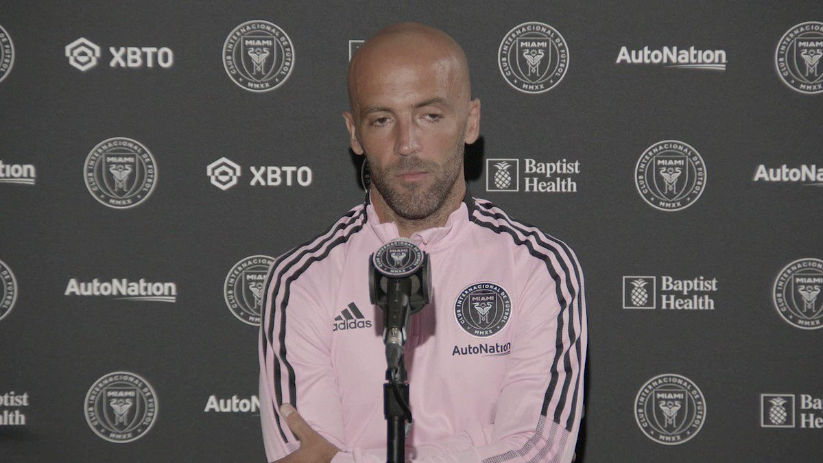 Federico Higuain on playing back at #DRVPNKStadium in front of #LaFamiliaIMCF . https://t.co/ZUbVtbp43s.
