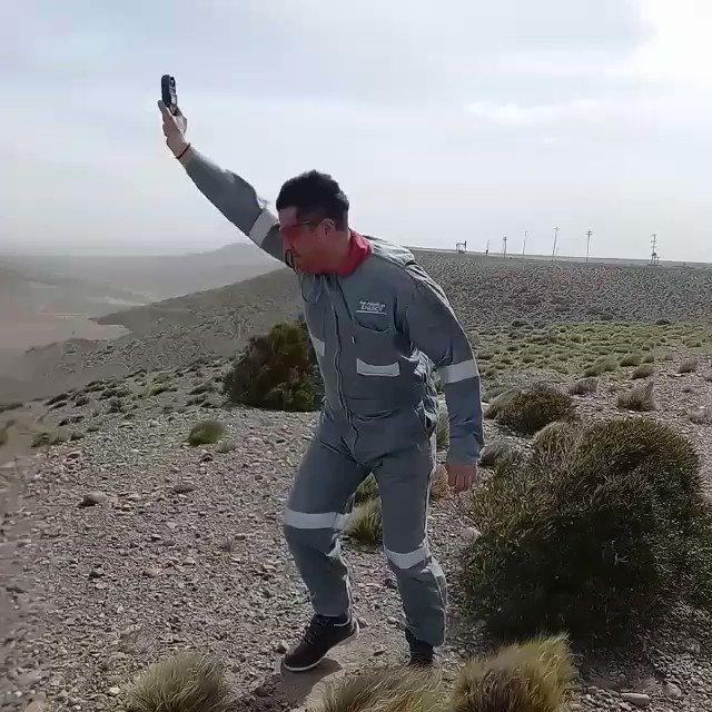 Image for the Tweet beginning: VIDEO: impactantes imágenes de los