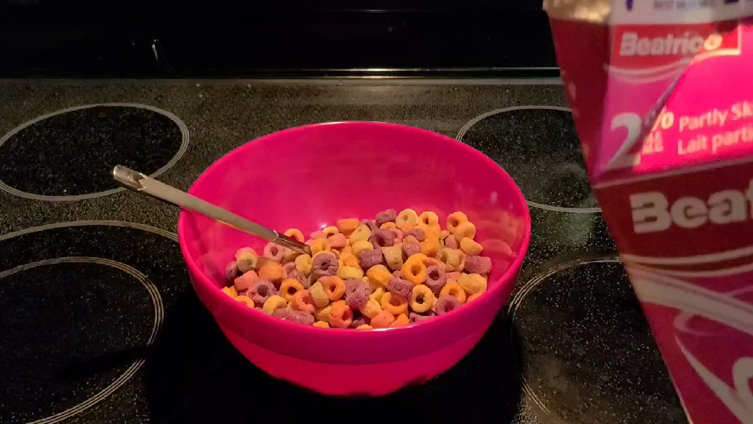 yeeeup. no stream. gonna binge Kim's Convenience and eat this monster bowl of cereal. #mentalhealthday
