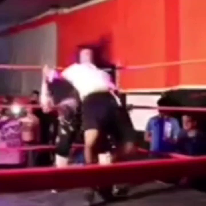 WHAT DO YOU THINK OF THIS ONE  Throwing a new twist on an old trick  #prowrestling #wrestling #wwe #aew #nxt #indywrestling #raw #njpw #smackdown #wrestlemania #wweraw #prowrestler #wwf #professionalwrestling #luchalibre #roh #wwenetwork #wrestler #wwenxt #wweuniverse