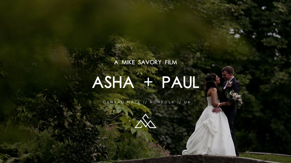 🎥 𝝗𝗥𝝠𝝢𝗗 𝝢𝗘𝗪 𝗦𝝞𝗫𝝩𝗬 𝗦𝗘𝗖𝝤𝝢𝗗𝗦 🎥   Asha and Paul were one of my last bookings of 2021 and it was lovely to get to know them before the day.   #norfolkwedding #weddingvideographer #wedding #norfolk
