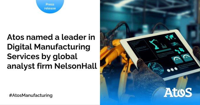 Orgullosos de ser nombrados líderes en servicios de fabricación digital, por @NHInsight, por s...