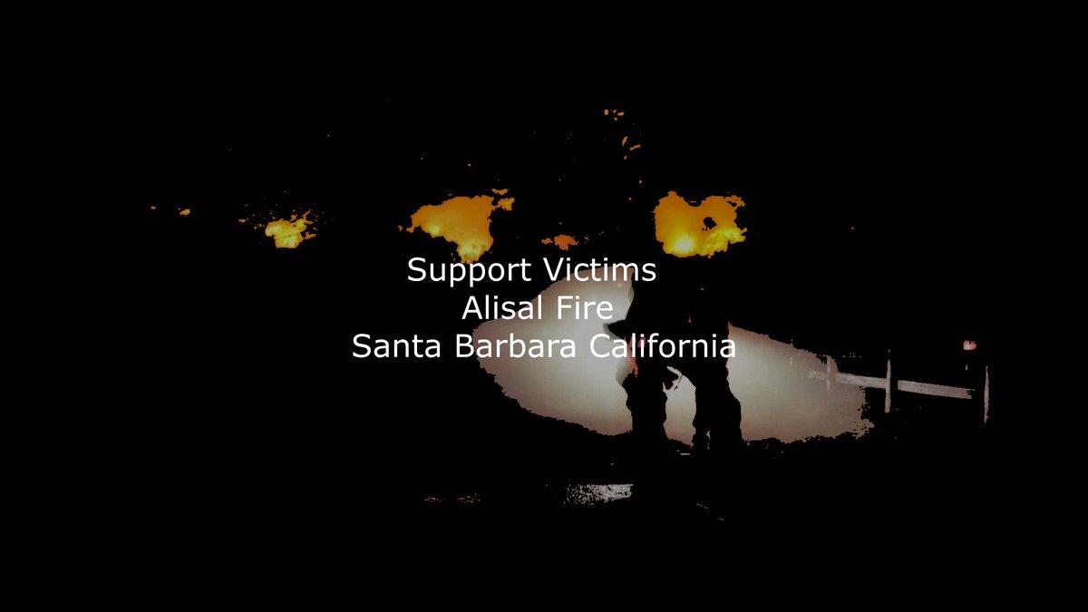 #Donate: https://t.co/lgqQunUpjE Support Victims Of #Alisal #Fire #SantaBarbara County, #California https://t.co/C0nLpt9S1I