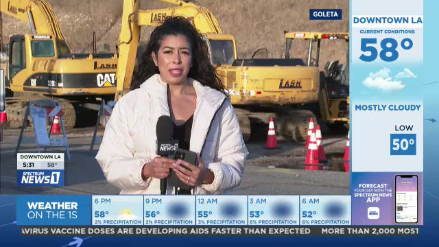 Went to Santa Barbara County after the heavy rains yesterday to check on the burn scars from the Alisal Fire. Residents are concerned about mudslides, even though the flash flood warning and evacuations have been lifted. https://t.co/XcwA6XyaiF