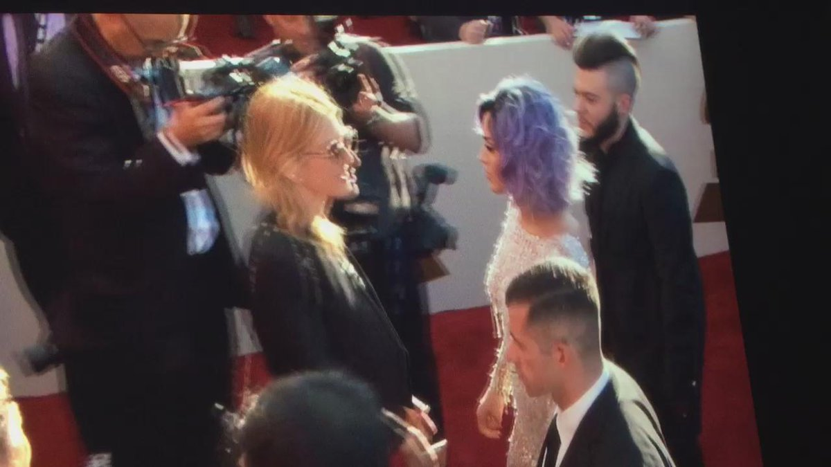 SHE IS HERE !! with ferras http://t.co/VYDUzndKw3