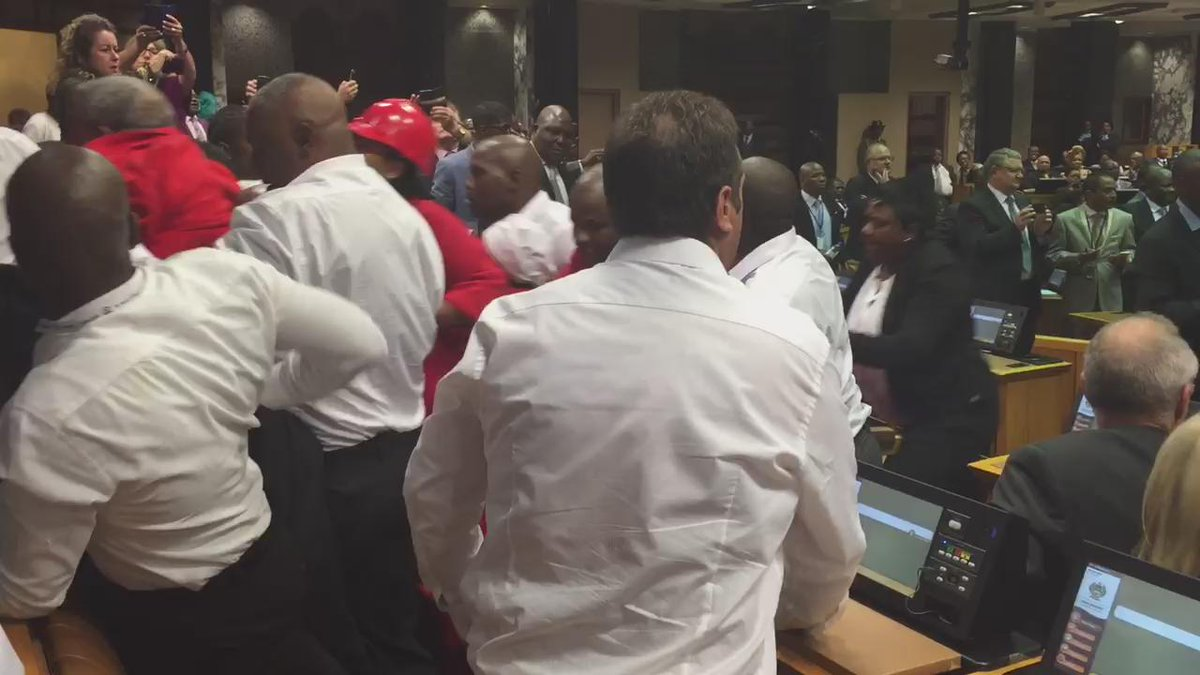When the police entered the Chamber to remove members of the opposition http://t.co/PEybc5gmbn