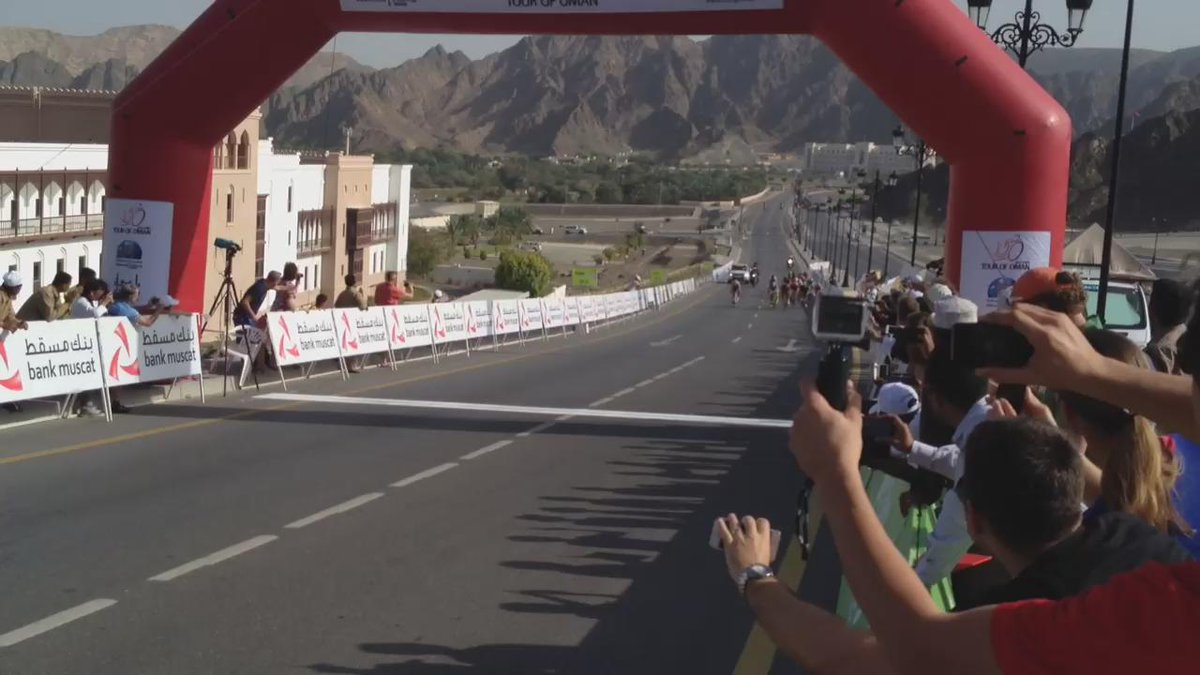 #ICYMI: Video of @tourofoman Stage 2 finish, with @BMCProTeam's @GregVanAvermaet in third. #tourofoman http://t.co/xmYNr9uJ4M