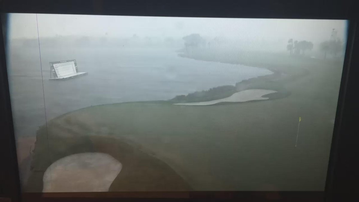 So this is current course conditions.... Horrendous! @SkySportsGolf http://t.co/VlKKmub2Ow