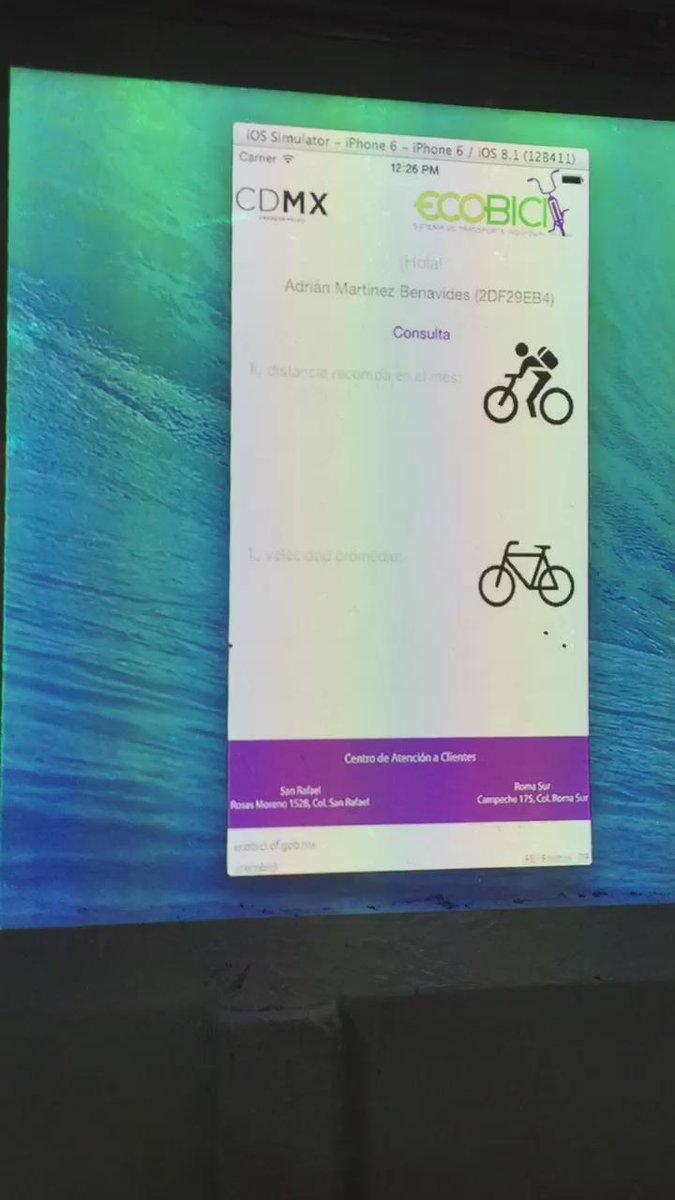 #EcoBiciTracker favorito #HackCDMX @LabCDMX  debemos ganar porque hasta le hicimos la App al hardware. http://t.co/76ueC0WFZ5