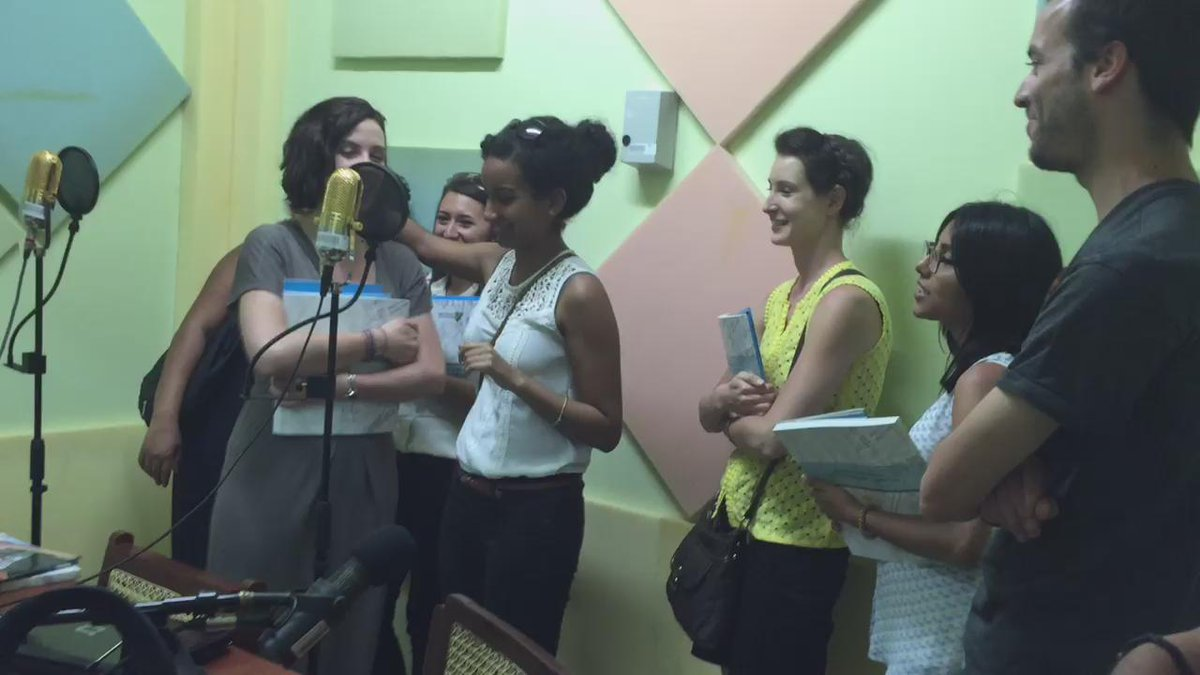 "After ~4 takes! ""@mlhopgood: Shout out at radio universidad @UCAdeNicaragua by @MedillSchool #MedillGlobal students http://t.co/DojK0xCM3O"""