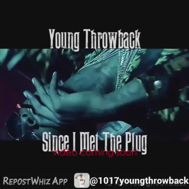 "#NewVideo - @1017_Records records & @gucci1017 artist @youngthrowback new video ""Since I Met The Plug"" coming soon RT http://t.co/lYNuuvtCRW"