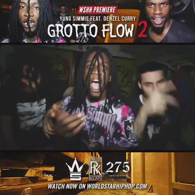 GO TO @WORLDSTAR & CATCH THE MOVIE BY @275YUNGSIMMIE X @RavenxMiyagi #GrottoFlow2 http://t.co/sLOZh60tc0