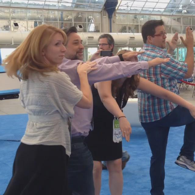 I present to you the Tetris Dance, featuring @ambarmstrong @RetailProSales @AmyTennison @ChrisHeuer #IBMAmplify http://t.co/r3huXKc7LG