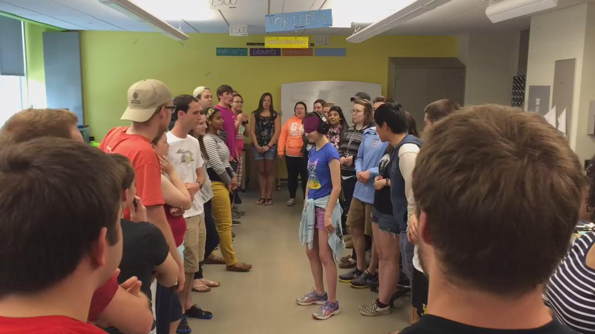 Frog communication simulation! #OSUherps http://t.co/dCcO6L4mkD
