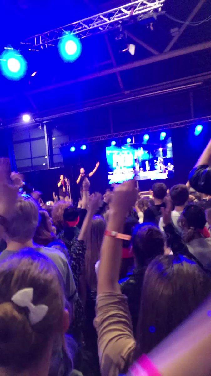 Het was zo leuk dat @rutgervink uiteindelijk toch kon optreden op de #DYTG2015 !