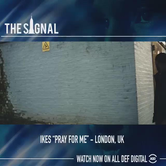 """RT @AllDefDigital: Check out UK native, @ikesonthereal's new video for """"Pray For Me"""" on #TheSignal. Full vid:http://t.co/LVpZhR80zn http:/…"""