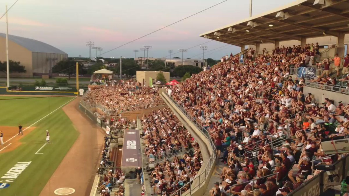 One of the more overwhelming traditions at Texas A&M's Olsen Field: http://t.co/VfrJhXn4uw