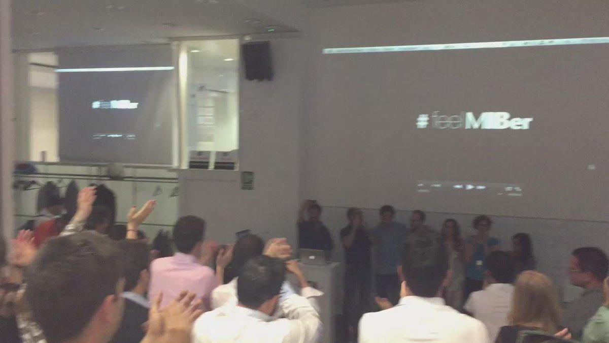 #feelMIBer #MIBers bestial trabajo del equipo @nopocameras ! Todos en pie!!! http://t.co/CLVdE7j2Bg