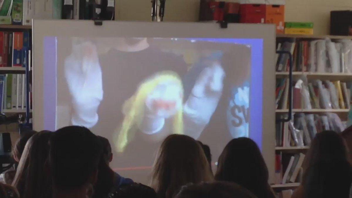 Irene shares her sock puppet skits #sjesplice2015 #ycdsb21c #ycdsbpathways http://t.co/AaO8VRVgKD