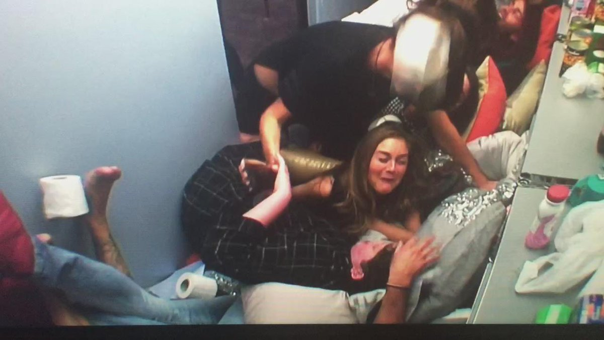 Nikki getting hit by a bottle of Flash was the highlight of the season