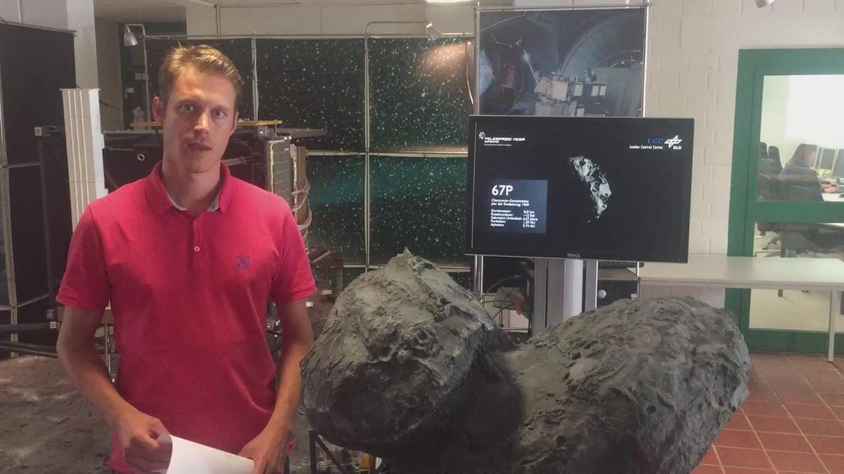 Update on status of @Philae2014 on #67P directly from #LCC in Cologne (video) #lifeonacomet (FW) http://t.co/sEuNeFL7l3