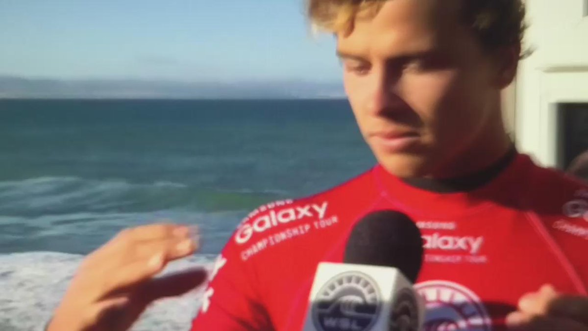 An emotional Julian Wilson describes trying to help @Mick_Fanning as a shark attacks him http://t.co/DDlveOOOAA