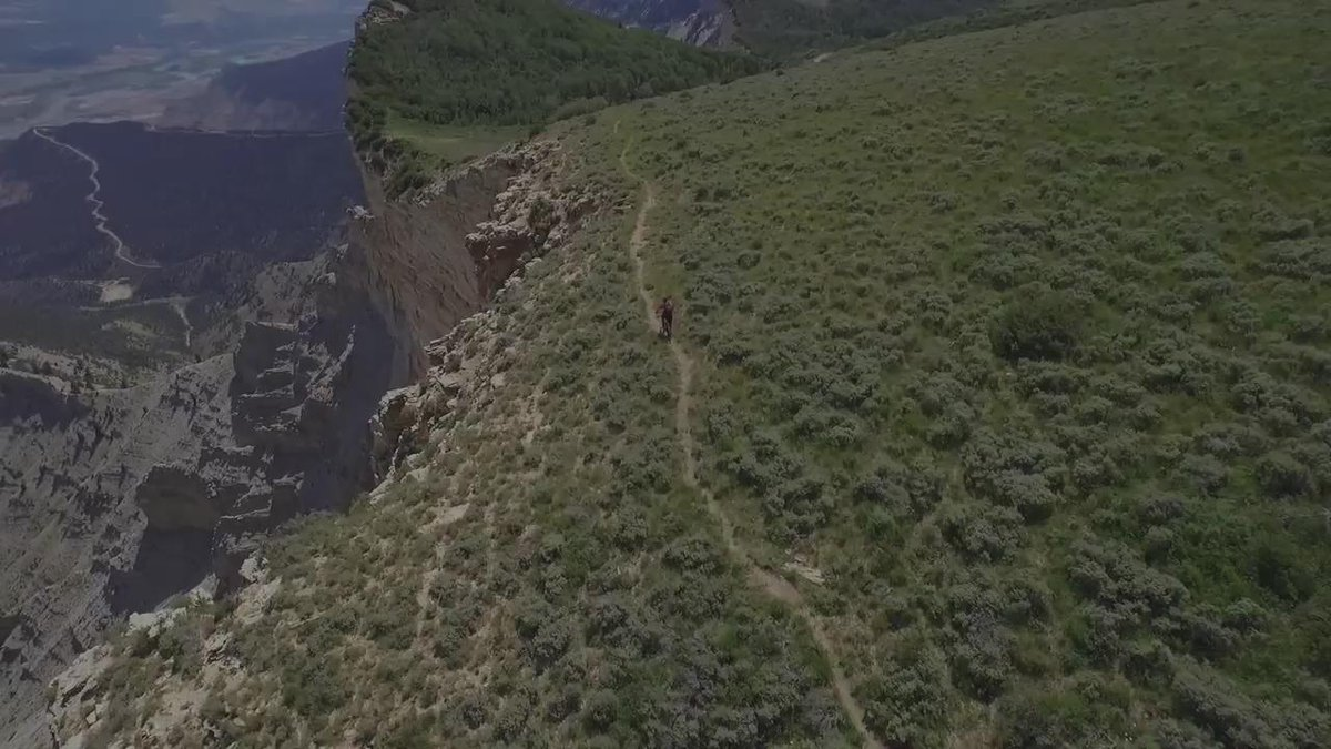 Here's my #ChargeAhead mountain bike BASE jump with @LifeProof #LiveLifeProof #sponsor http://t.co/xYxcYGs0W4