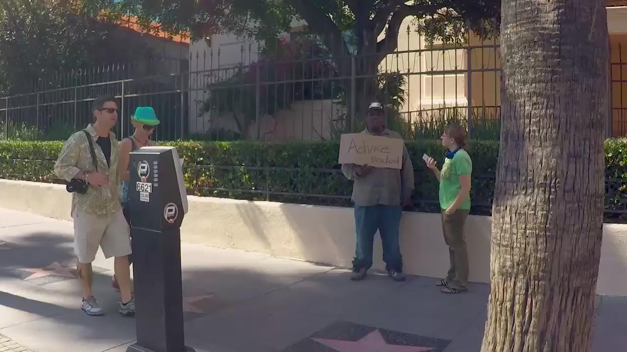 RT @AllDefDigital: Do People Give The Homeless Advice? #ADDexperiments w/ @teddyraycomedy.  Watch More: http://t.co/joM2lkrMLN http://t.co/…
