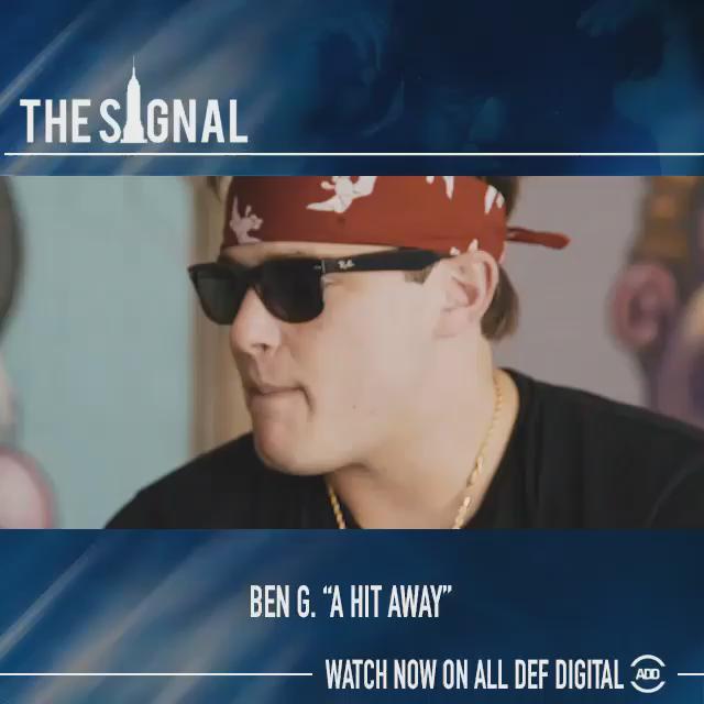 "RT @AllDefDigital: Fresh of his tour w/ @WakaFlocka, @BenG803 premieres ""A Hit Away"" on #TheSignal.  Watch More: http://t.co/FXoXZ41ugw htt…"