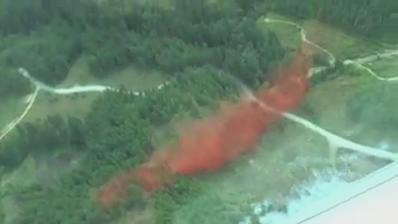 The Wood Lake #BCwildfire burning 20km N of #HarrisonHotSprings now estimated at 45ha. Info: http://t.co/LB4C6T4thJ http://t.co/qqqVdqjbXC