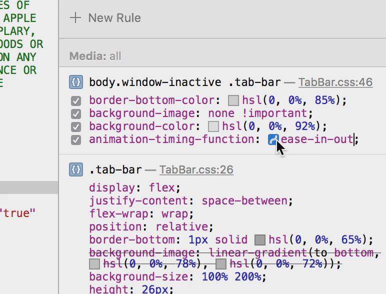Web Inspector in the nightly has a cubic-bezier editor for CSS's animation-timing-function. http://t.co/znjs7ymafQ http://t.co/7lffk9GX48