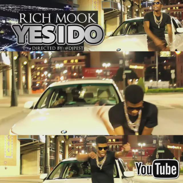 "Go check out that @_RICHMOOK ""Yes I Do"" video"