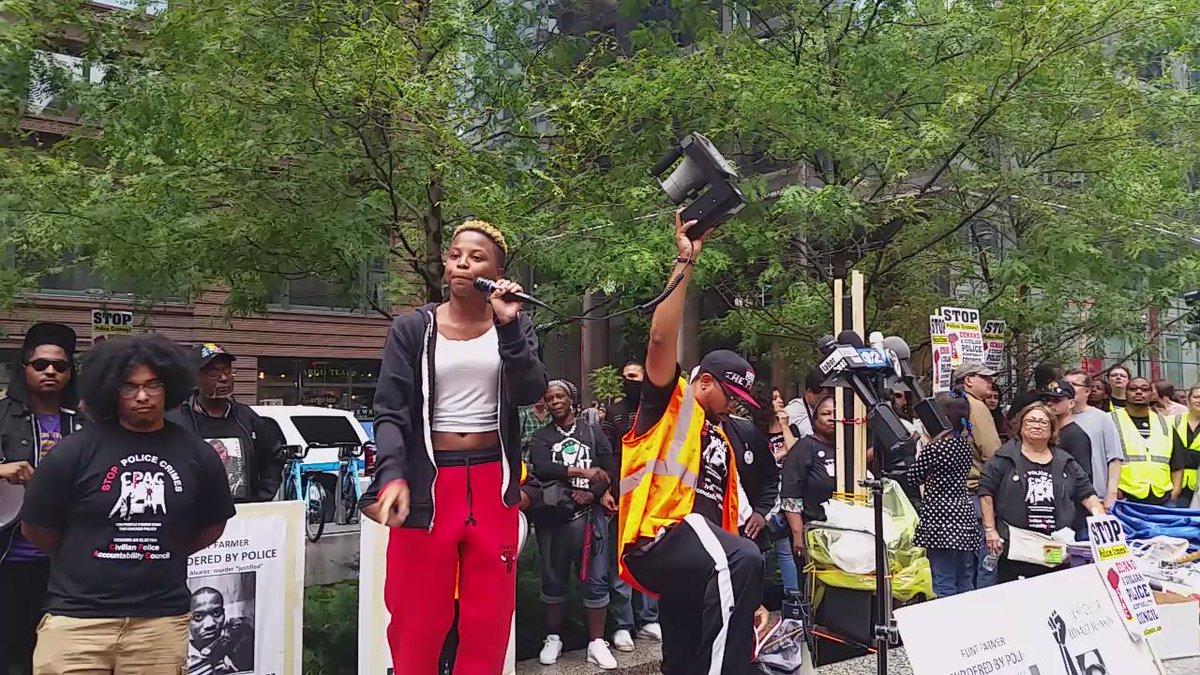 Performance at #StopPoliceCrimes #cpac #BlackLivesMatter http://t.co/vw4fvoc2gh