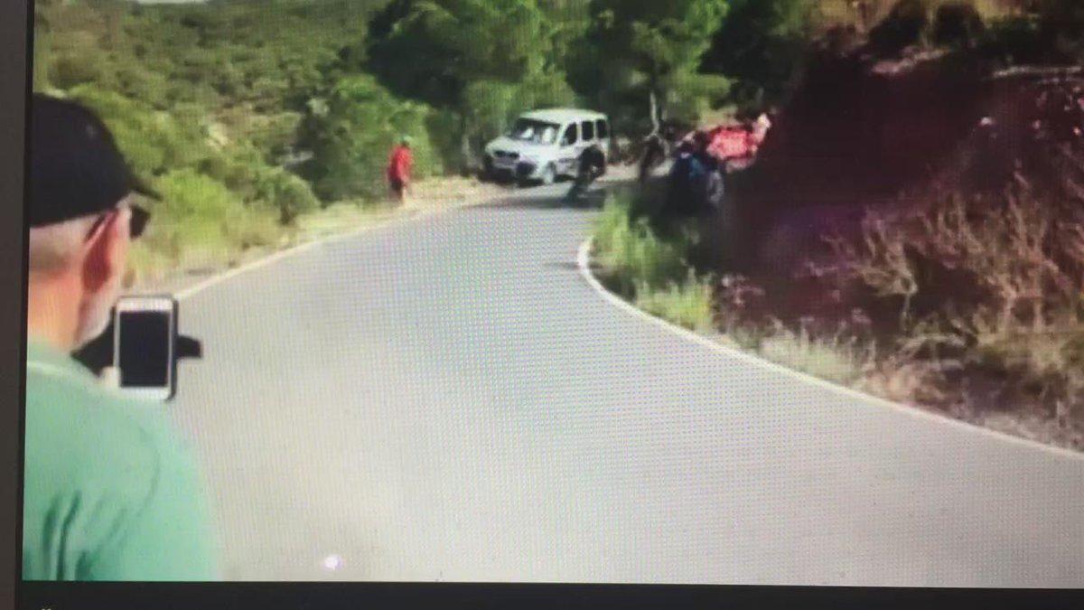 La caída de @jjrojillas vista desde el otro lado. Da miedo http://t.co/eIaTi7d9A1