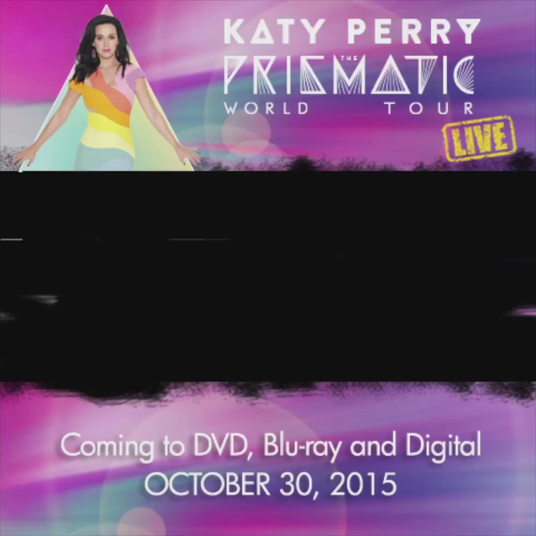 The Prismatic World Tour LIVE is coming to DVD, Blu-Ray and digital on October 30! #KatyPWTL http://t.co/C8Ukyu4NPr