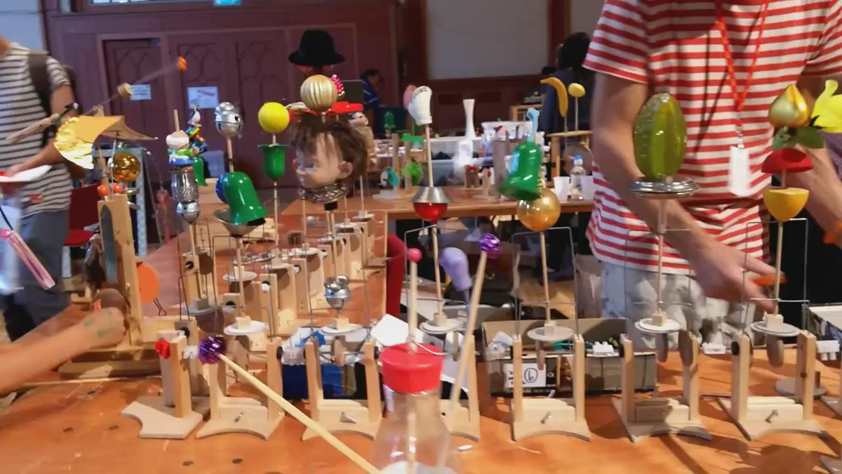 Just some of the happenings today @MakerFaireBTN, part of @DigitalBrighton #BMMF http://t.co/niAXLtcIeQ