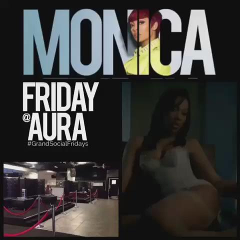If you're interested in VIP this Friday at Aura Lounge, book it through me today! Monica will be in the building! http://t.co/J7ZH9ZEzJK