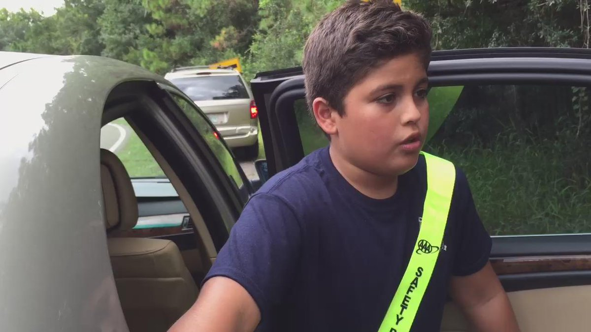 10-Year-Old's Account After He Saved Kids From 'Out of Control' School Bus That Crashed in a Pond