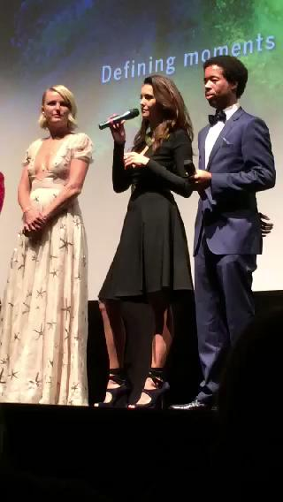 @ninadobrev mentions her love for her old tvd family @Caitlin901 it brought some feels back no? #tiff http://t.co/bqWb24yA8c
