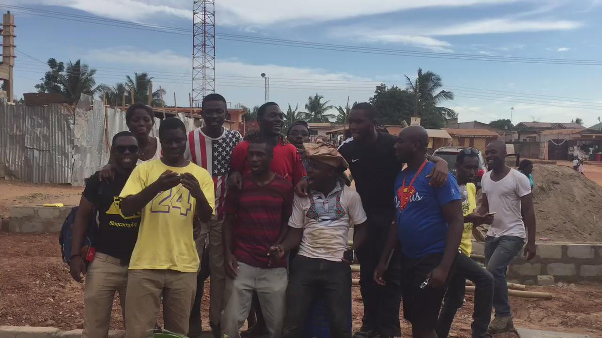 """""""This is the way I wanted to be. Ayyyyyy, I wanna be a VOLUN-TEER!"""" #NVDay15 #Ghana http://t.co/g9iQ3JpfyD"""