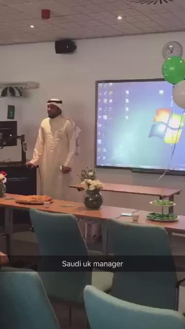 - مقطع بسيط أثناء حديثي عن دور #السعودية الضخم للإسلام والعالم للحضور الانجليزي من جامعة سالفورد   @SaudiUK http://t.co/yeEw9x6dwt