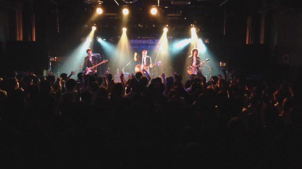 【MINAMI WHEEL2015】アンダーグラフ、ミナホ2日目のMUSEのトリを務めまして、来てくれたみなさん、ありがとうございます。 また大阪でのライブに来てください。最後にみんなで合唱した「ツバサ」の動画をどうぞ。#mw15 http://t.co/DLMaEonl5s