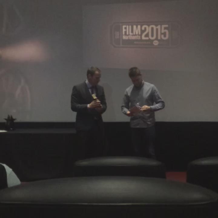 The public vote runner up issss...  The Presence #FilmNorthants http://t.co/H6Px0m2kJV