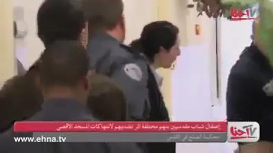 نظرَ للكاميرا مُبتسِمًا بعد قرار حبسه مدى الحياة وقال؛ مؤبّد عشان الأقصى. http://t.co/dV64xSylPT
