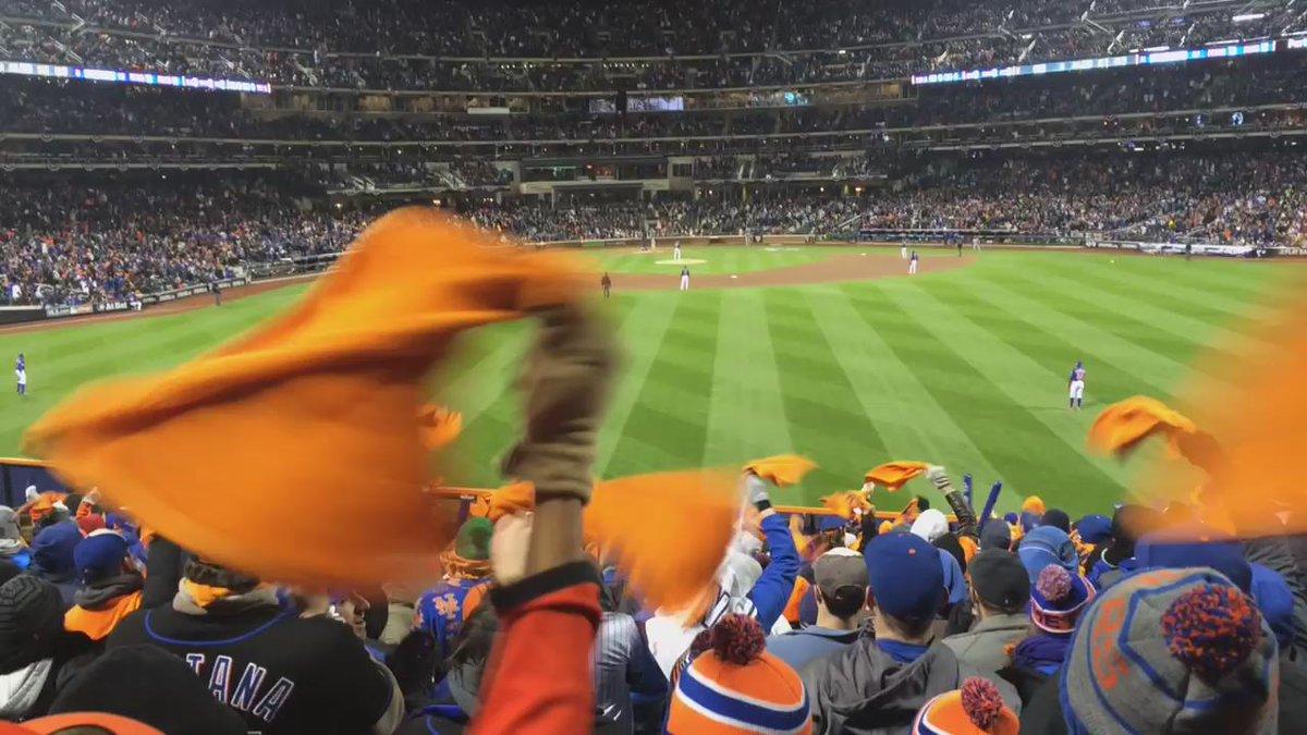 Heeeeeeeeeeeee struck him outttttt!!! @The7Line @Mets @CitiField #LGM #Postseason #Metitude #BeatTheCubs #NLCS http://t.co/HM7fZ6BqLn