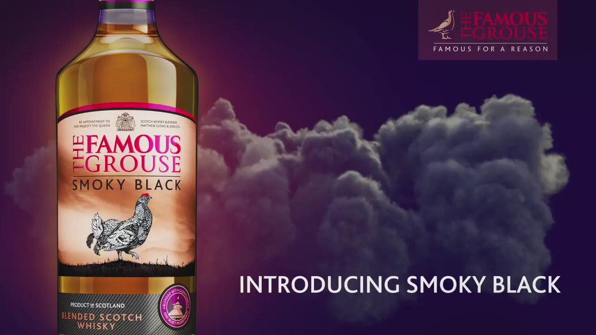 The Black Grouse has a brand new label and a brand new name...Introducing The Famous Grouse Smoky Black! RT to win! https://t.co/XUNq7UYr4w