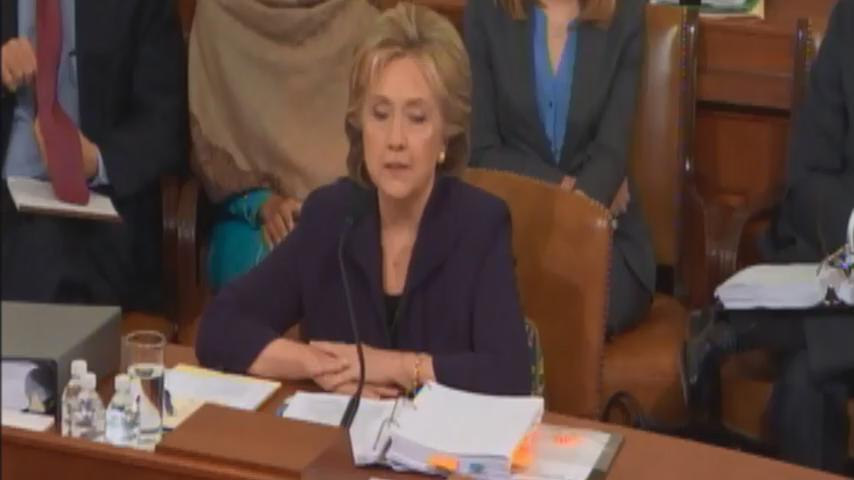 """""""If you read the ARB...""""  """"I have read it, Secretary Clinton, and it says security was grossly inadequate."""" https://t.co/2Ydq02nabH"""