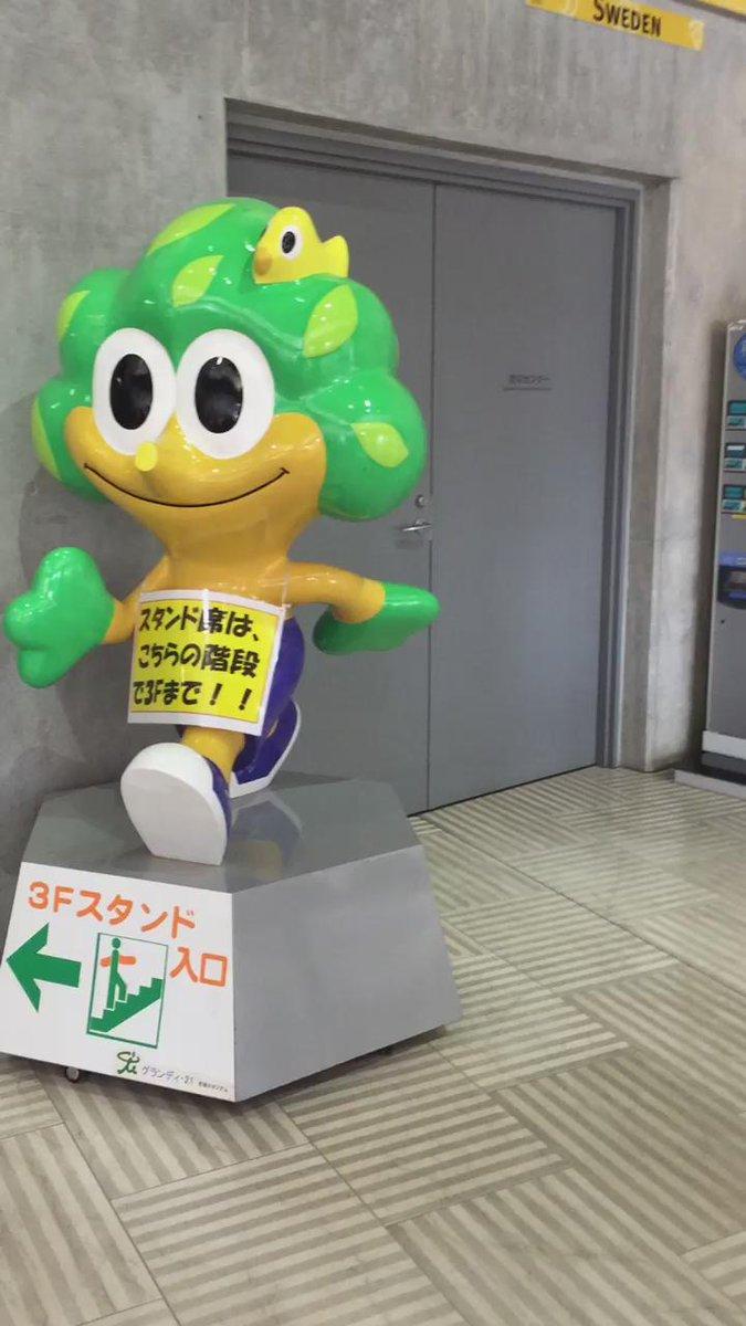 【動画】宮城においでよ 今日はケヤッキーとむすび丸が再会したよ https://t.co/AolWSXPPJa